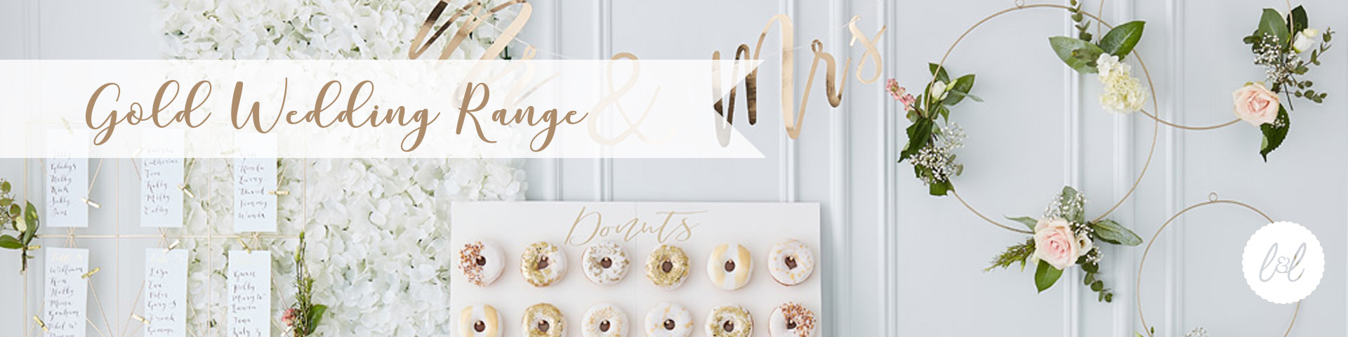 Gold Wedding Range